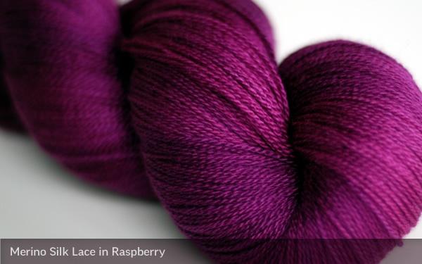 Sweet Georgia Yarn Raspberry
