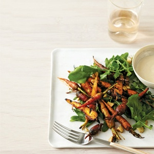 Grilled Carrot Salad with Brown Butter Vinaigrette | Recipe