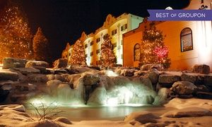 Groupon - Stay with $ 25 Dining Credit and Four Daily Water-Park Passes at Chula Vista Resort in Wisconsin Dells. Dates into May. in Wisconsin Dells. Groupon deal price: $69.30