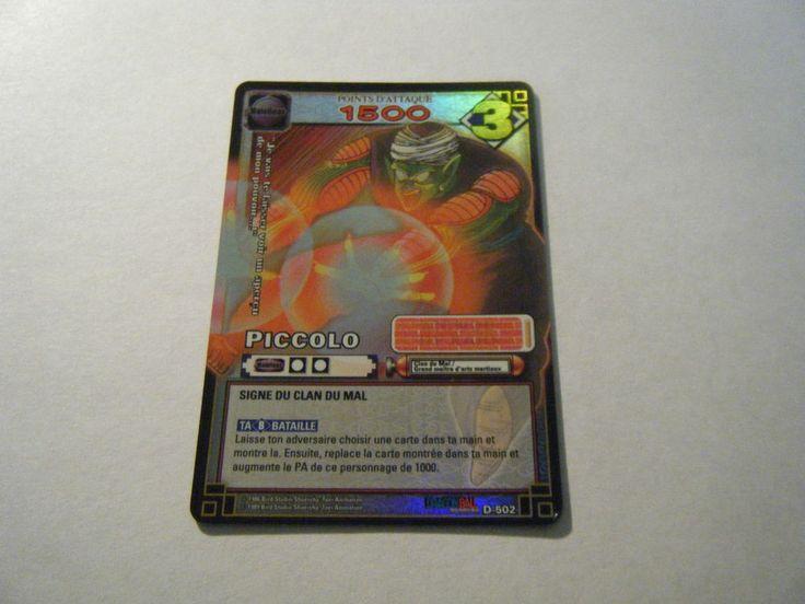 Piccolo - D-502 - Carte Dragon Ball Z Série 5 - Holo