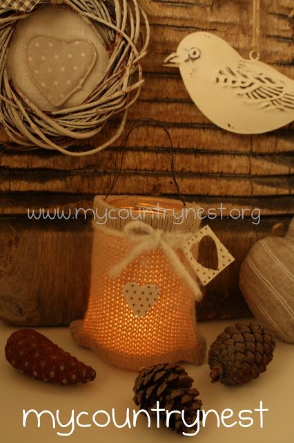 My country nest: Riciclo da un vecchio maglione / Upcycling from an old sweater