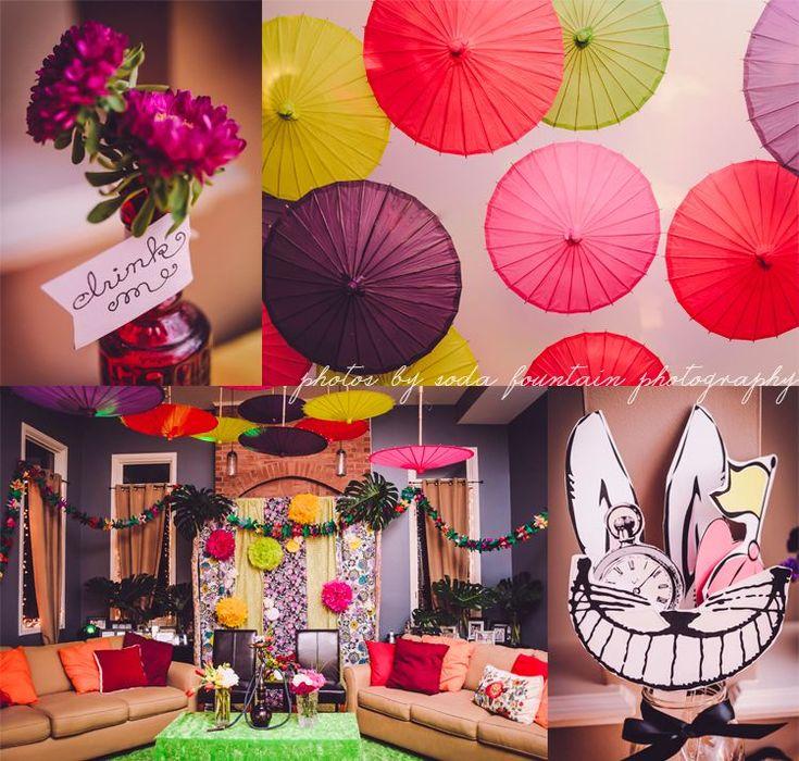 kio kreations » Alice in Wonderland 30th UnBirthday Party | Chicago Event Florist