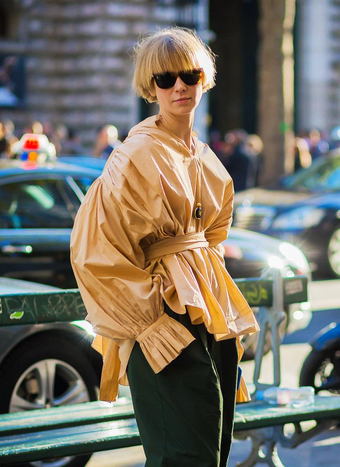 How to wear the puffball sleeve trend, as well as the best ones you can shop now from Mango, Jacquemus and more.