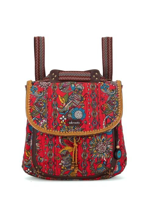 Art, music, nature! Our newest backpack is super easy to carry, featuring an adjustable strap allowing you to wear the bag as a crossbody or backpack!