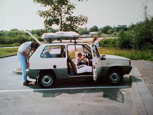 1982 Fiat Panda 45 CL by Skitmeister, via Flickr