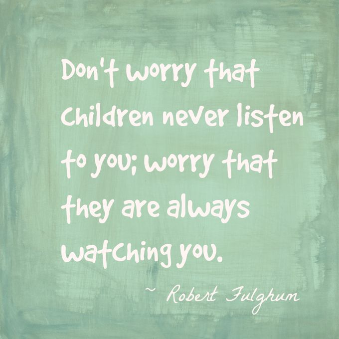 Robert Fulghum Parenting Quote