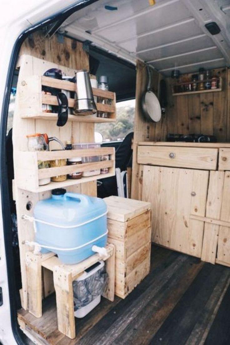 Diy camper van awesome ideas 6