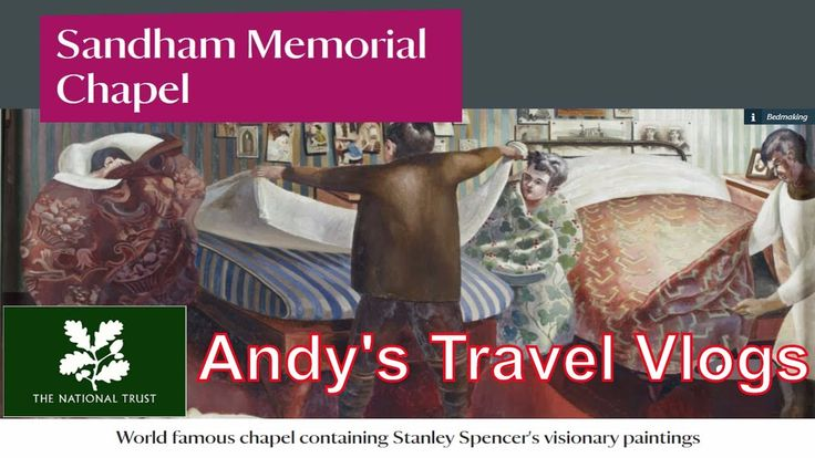 Andy's National Trust Travel Blogs: Sandham Memorial Chapel
