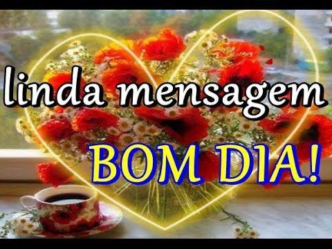 LINDA MENSAGEM DE BOM DIA - AMO A SUA AMIZADE - Bom Dia - Vídeo de Bom Dia para WhatsApp - YouTube
