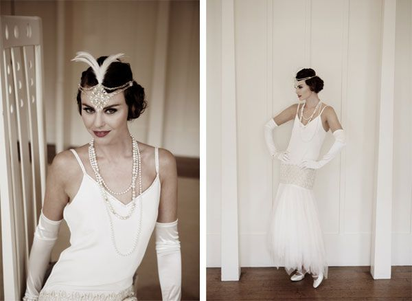 свадебное платье в стиле ретро винтажное свадебное платье образ невесты в стиле 20-х готодов 1920-е мода для свадьбы аксессуары для свадебной прически в стиле рэтро украшения для волос винтаж бусы из жемчуга пальто к свадебному платью в стиле рэтро свадебная обувь в стиле рэтро дизайнерские свадебные платья свадебные платья каталог дизайнера