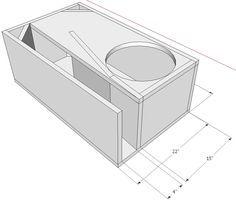 single 15 sundown audio sa 15 top laoding tapered transmission line single fold enclosure 1