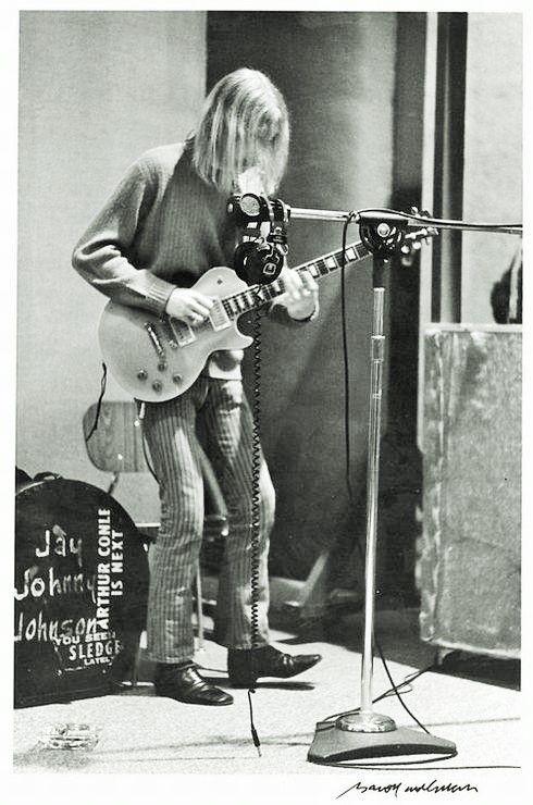 Duane Allman, Redwal Studios, Macon, Georgia, 1969: Baron Wolman.