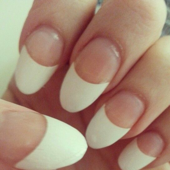 How to do a french manicure with acrylic nails