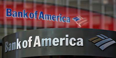 """""""Μαύρα σύννεφα"""" για τις ελληνικές τράπεζες """"βλέπει"""" η Bank of America."""