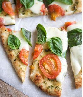 MySweetArianna: Pizza Integrale Pesto e Pomodori