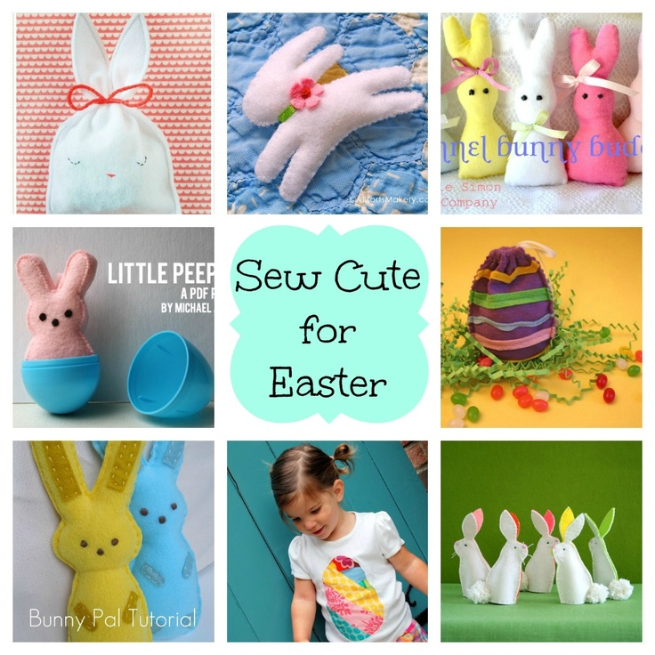 51 best sewing projects for easter images on pinterest easter night owl corner sew cute for easter sewing projects for easter negle Choice Image