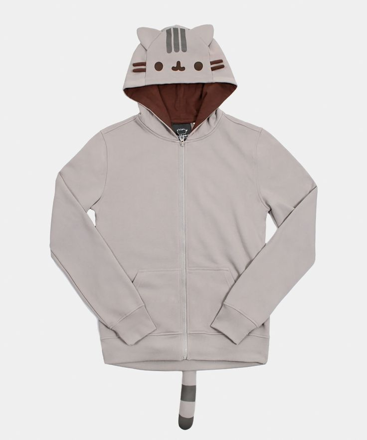 Pusheen the Cat costume hoodie (unisex). You can send this to my work or home address, thanks.