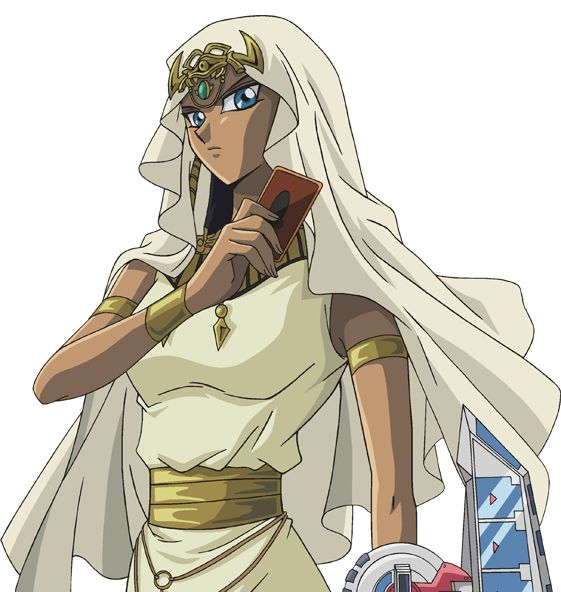With her Millennium Necklace, Ishizu had the ability to see the future. She foresaw that if no one stopped Marik, he would bring the entire planet to the edge of chaos. Ishizu did her best to reason with Marik, but she failed, and Marik stole two of the three Egyptian Gods.