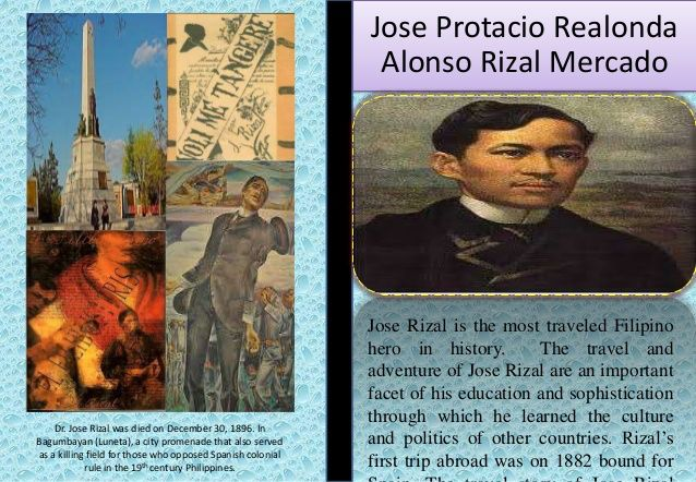 resume of rizal José rizal's life timeline shows his writing career, his emigration to spain and his arrest for treason.