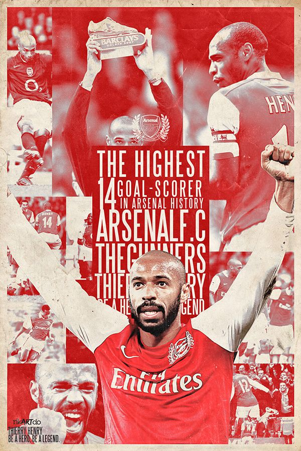 Thiery henry arsenal legend