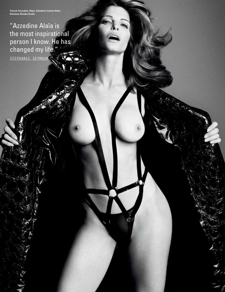 Stephanie Seymour On Lingerie, Fashion, And Advice For Young Models