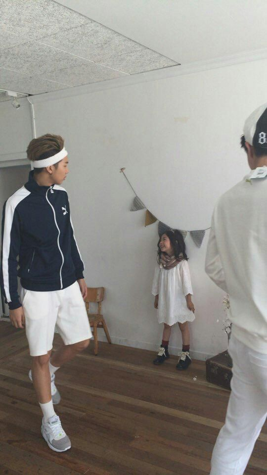 BTS with Kids Model Lee Nam Gyeong: