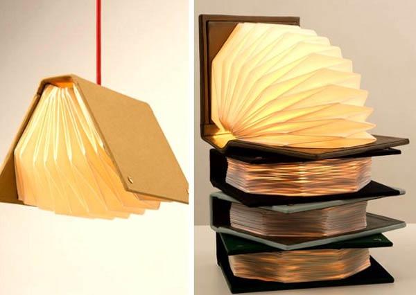 Book lamps!!
