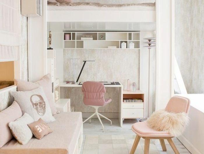 00-idées-pour-la-chambre-d-ado-fille-en-beige-et-rose-beige ...