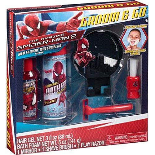 Marvels The Amazing SpiderMan 2 Groom  Go Play Razor Gift Set 5 pc ** Details can be found by clicking on the image.Note:It is affiliate link to Amazon.