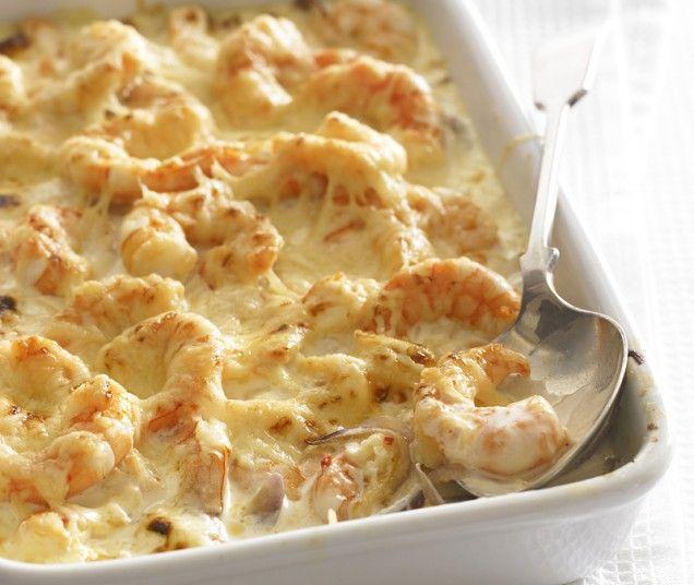 Spicy Shrimp Gratin: Garlic Clove, Fish Seafood, Shrimp Gratin, Gratin ...