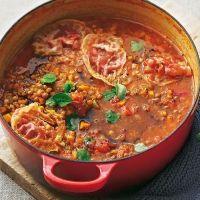 Suppe Hülsenfrüchte italienisch