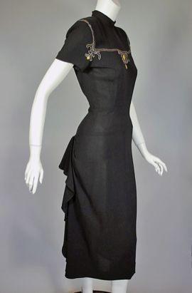 1940s Vintage Cocktail Dresses