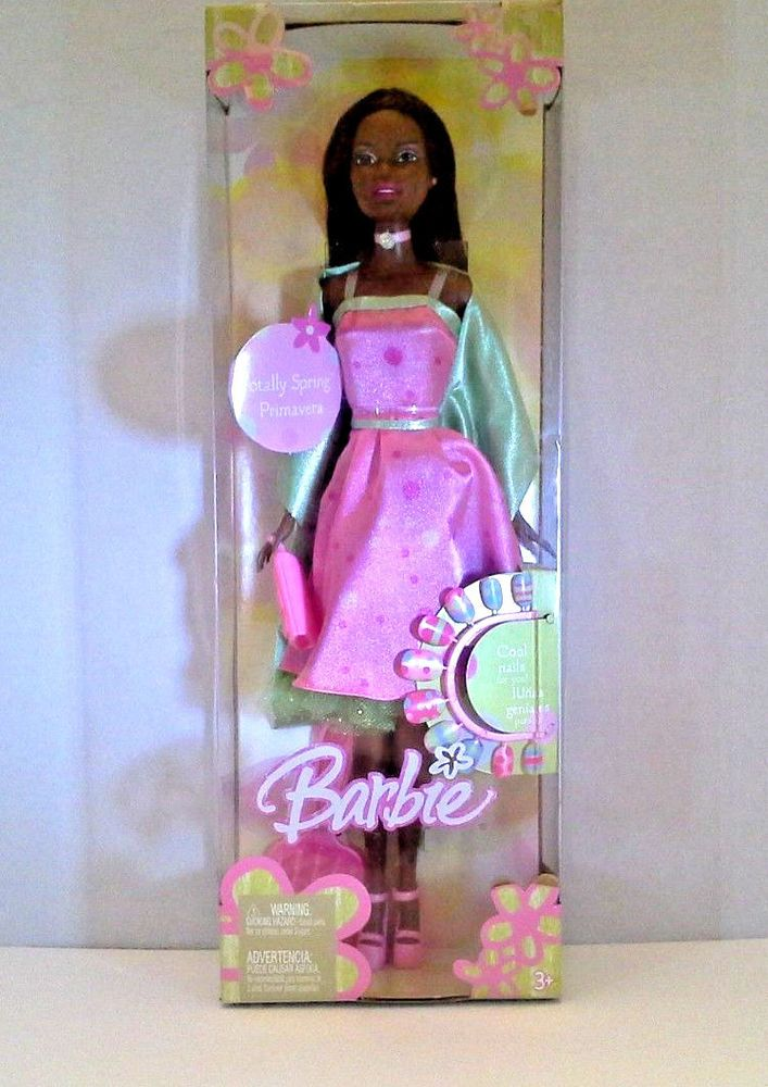 SEALED BOX 2004 Totally Spring Mattel Barbie G5318 Black/African American Doll  #Mattel #DollswithClothingAccessories