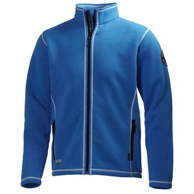 This Helly Hansen 72111 Hay River Knitted Fleece Jacket incorporates Polartech Thermal Pro technology. It features zipped hand pockets, chin guard, and a drawcord in the hem.
