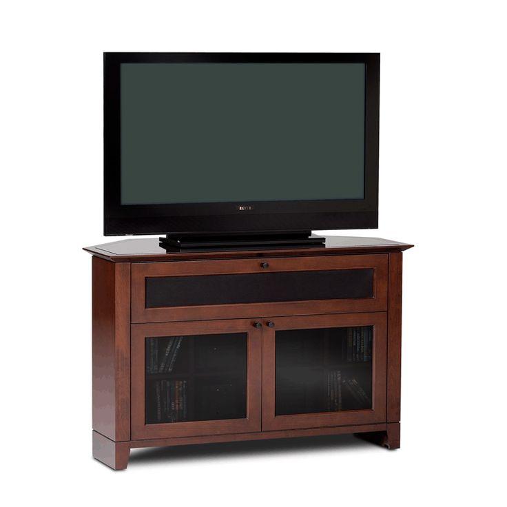 Lovely Cherry Corner Tv Cabinet