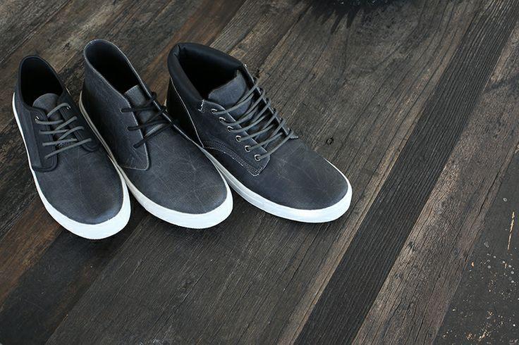 ::: AVALON ::: HUMBOLDT ::: NARRA ::: Black waxy canvas collection. http://www.urgefootwear.com.au/mens-shoes-online/avalon-black-canvas