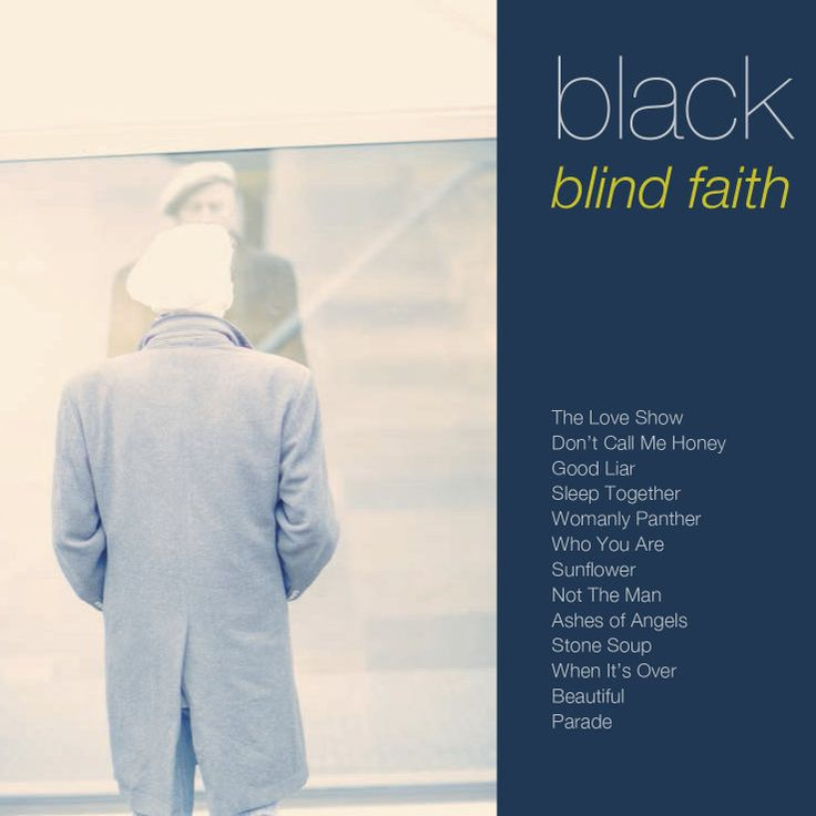 black blind faith