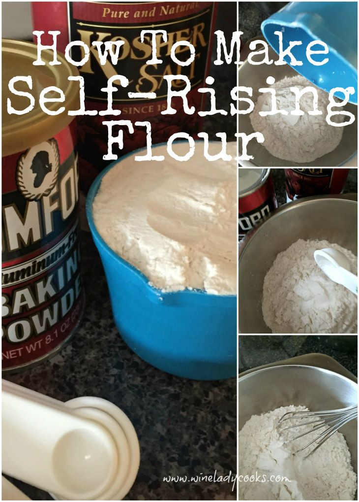 How to Make Self-Rising Flour is easy and only 3 ingredients from your pantry is needed. Click thru for easy recipe.