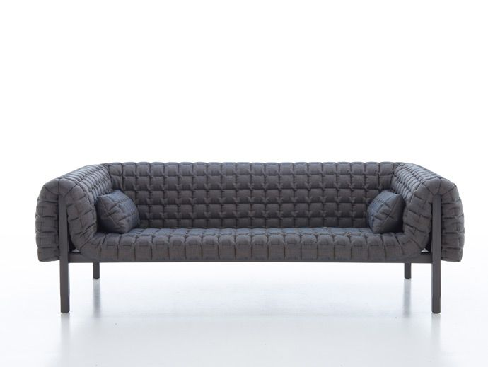 Most comfortable sofa, great size.  Lignet Roset- Kev approved!