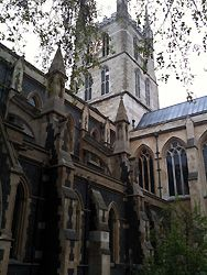 Southwark Cathedral London. I need to see the Shakespeare windows!