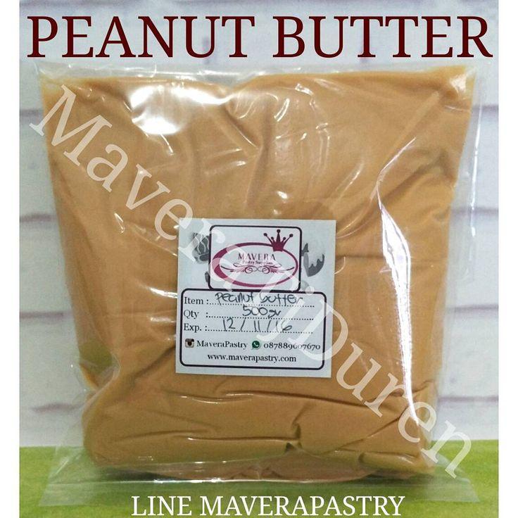 NEW ITEM  PEANUT BUTTER, selai kacang kualitas baik.  Bisa digunakan sebagai Olesan cake Isian donat/roti Topping donat/cupcake Campuran kue kering,dll  Kemasan repack 500gr Harga 27rb/pc  Halal MUI  MaveraTjDuren LINE MAVERAPASTRY WA 087889607670 NO PHONE CALL  GUNAKAN FORMAT ORDER  #maverapastry #maverapastrytanjungduren #tanjungduren #jakartabarat #jualbahankue #bahankueonline #peanutbutter #selaikacang #kacangtanah #halalmui #trustedonlineshop #onlineshopjakarta