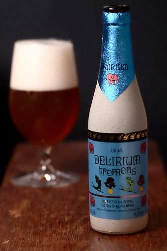Delirium Tremens--Awesome amber beer from one of the oldest breweries in the world.