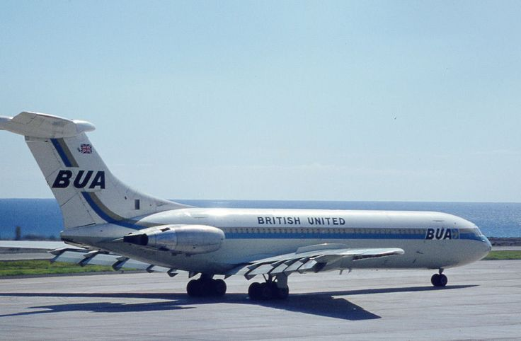 BRITISH UNITED VICKERS VC-10 G-ASIX