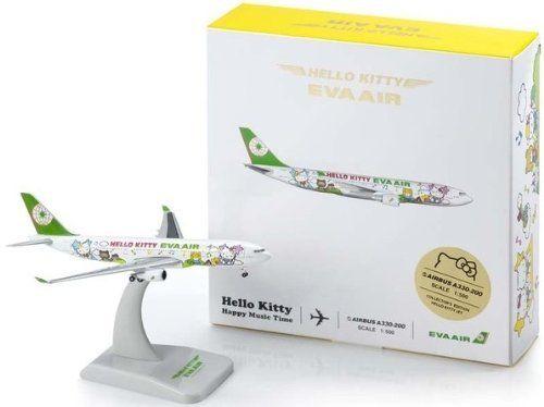 EVA Air A330-200 HELLO KITTY EVA AIR Hello Kitty jet 1/500