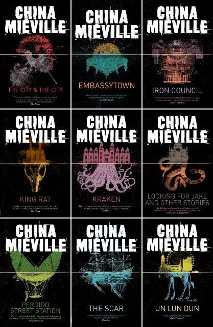 The British editions of China Mieville rule. A lot.