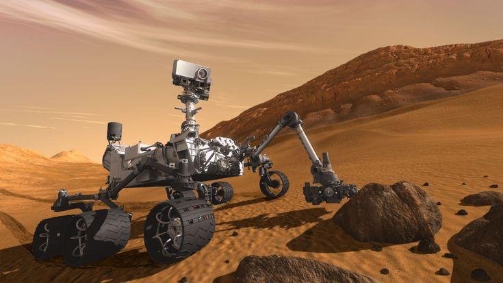 Secondo alcune rilevazioni del rover Curiosity, #Marte potrebbe avere acqua liquida appena sotto la sua arida superficie.
