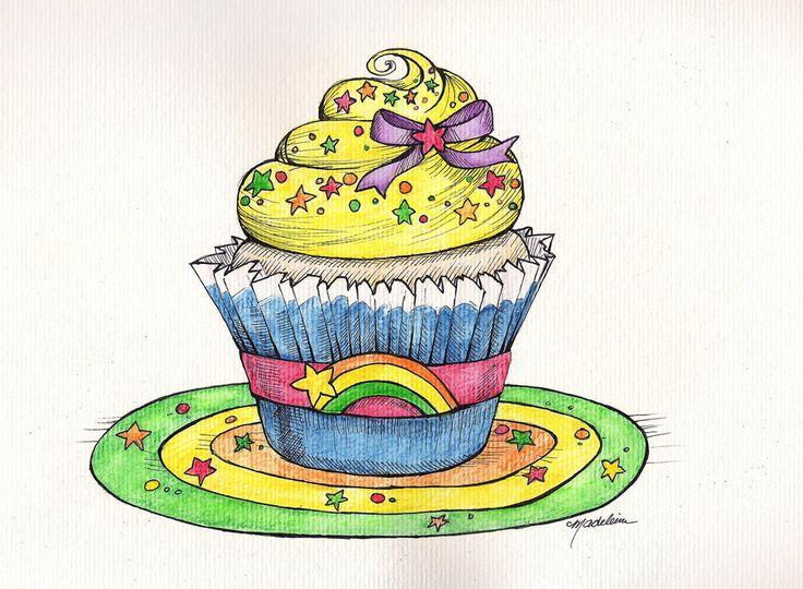 97 besten a sweet tooth bilder auf pinterest zeichnungen von cupcake illustration und. Black Bedroom Furniture Sets. Home Design Ideas