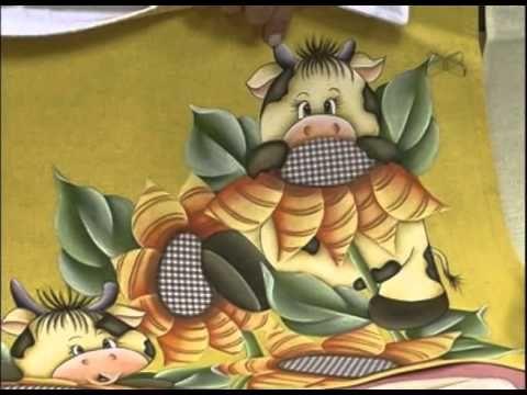 Mulher.com 05/09/2012 - Pintura em tecido com patchcolagem 2/2