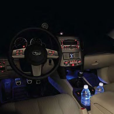 Subaru Outback Interior Illumination Kit 2011-2014