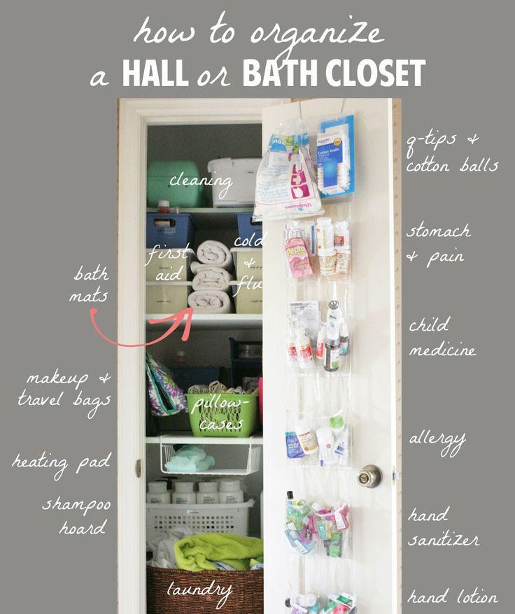 13+ Tips to Organize a Hall Closet
